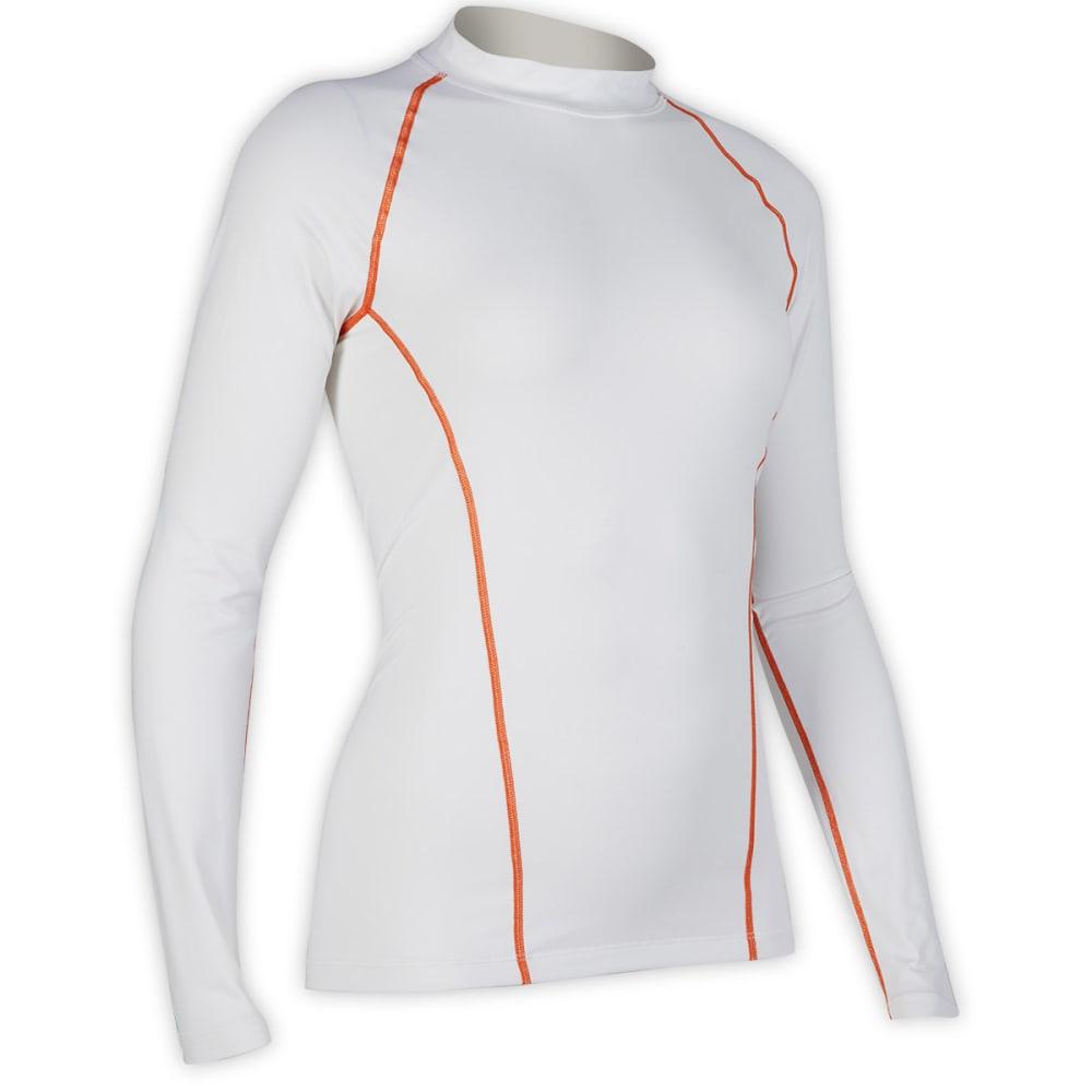 EMS® Women's Techwick® UPF 50 Rash Guard - WHITE