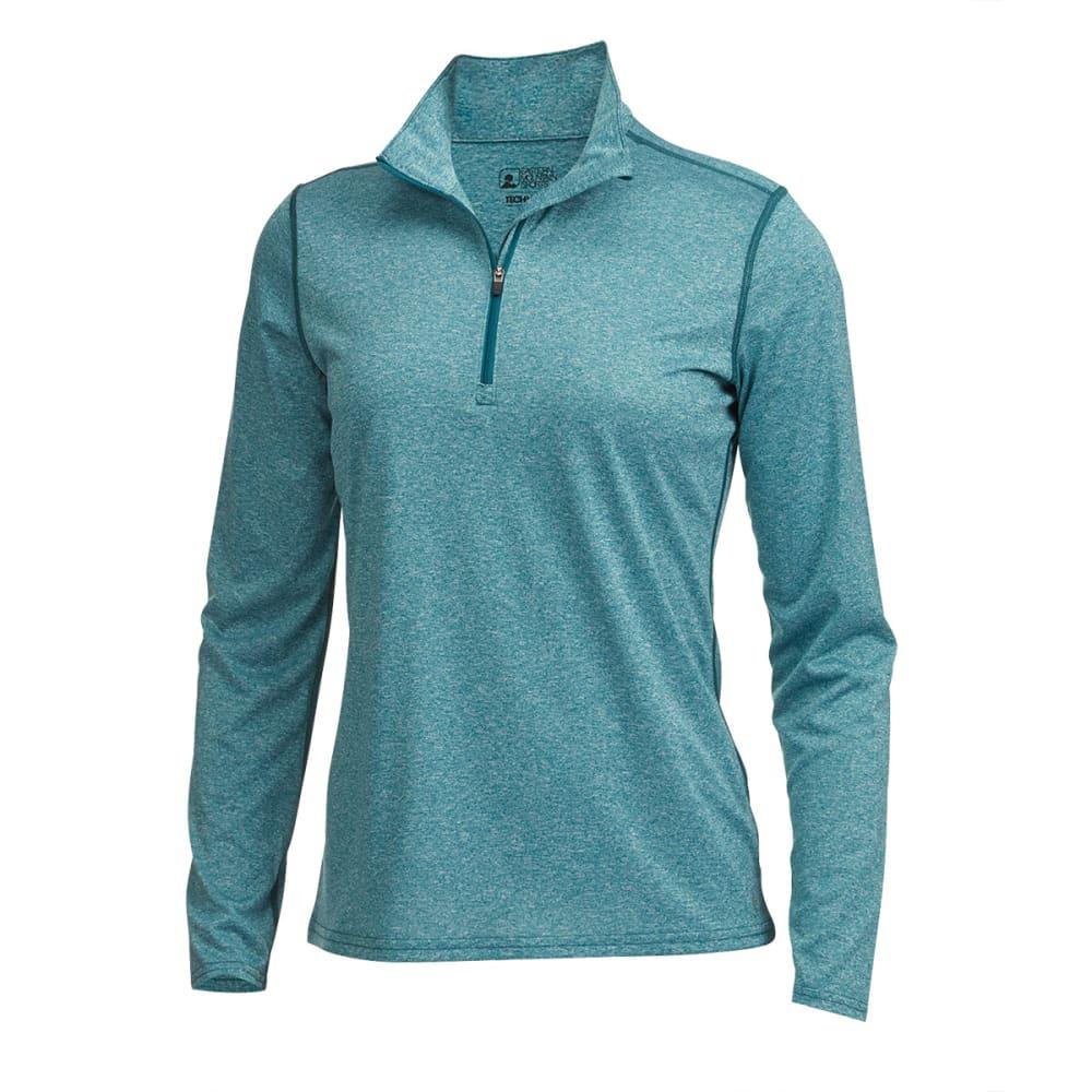 EMS® Women's Techwick® Essence Long-Sleeve ¼ Zip - EVERGLADE