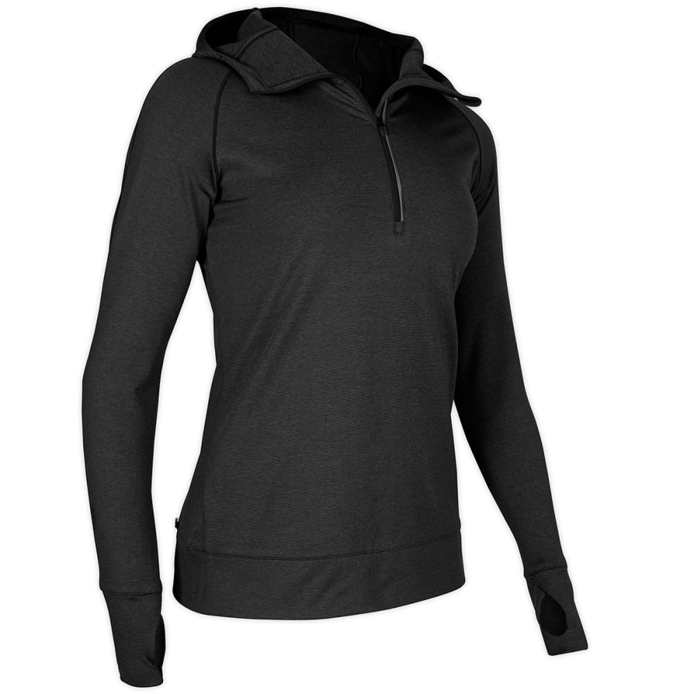 EMS® Women's Excel Thermo  ½ Zip Hoodie   - BLACK