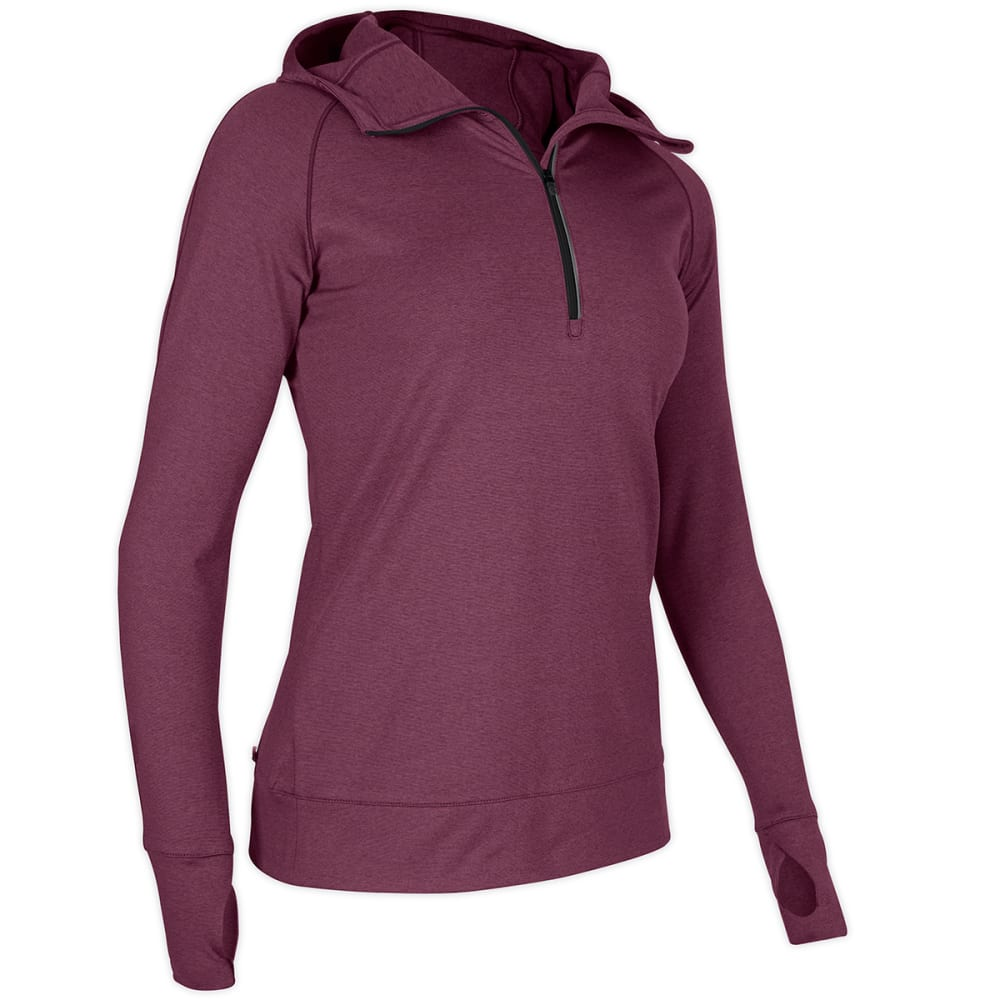 EMS® Women's Excel Thermo  ½ Zip Hoodie   - WINEBERRY