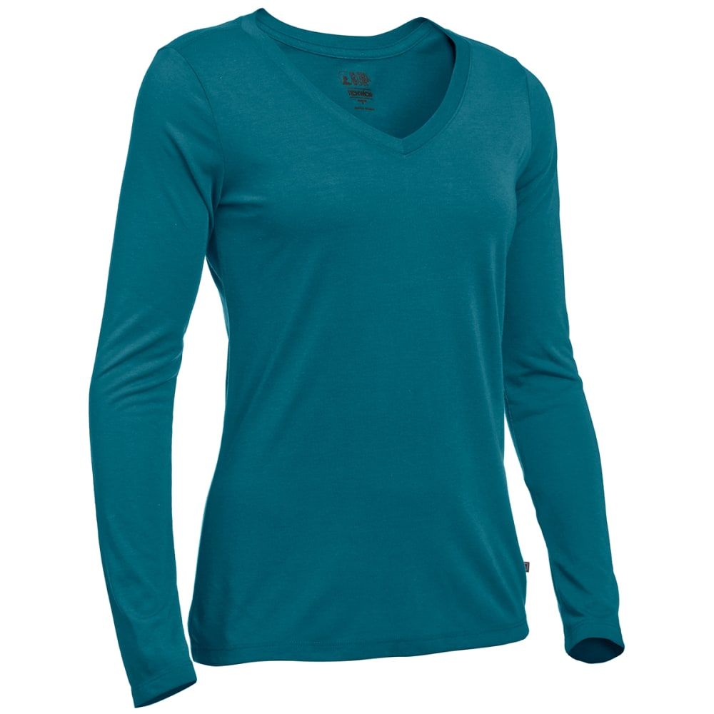 EMS Women's Techwick Vital Long-Sleeve V-Neck Tee XS