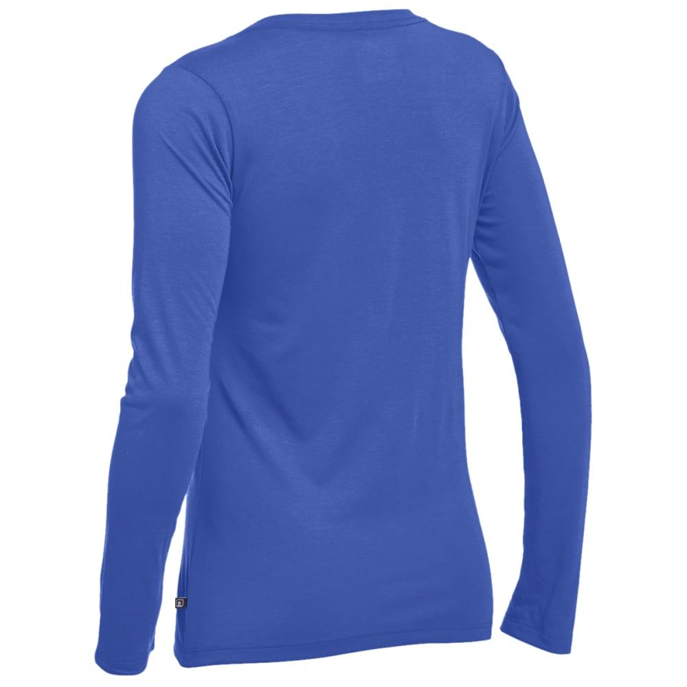 EMS® Women's Techwick® Vital Long-Sleeve V-Neck Tee - DAZZLING BLUE
