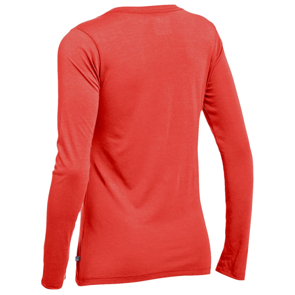 EMS® Women's Techwick® Vital Long-Sleeve V-Neck Tee - BAKED APPLE