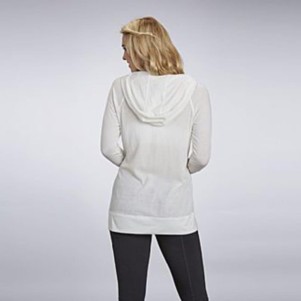 MARIKA Women's Raglan Yoga Tunic Hoodie - CLOUD DANCER