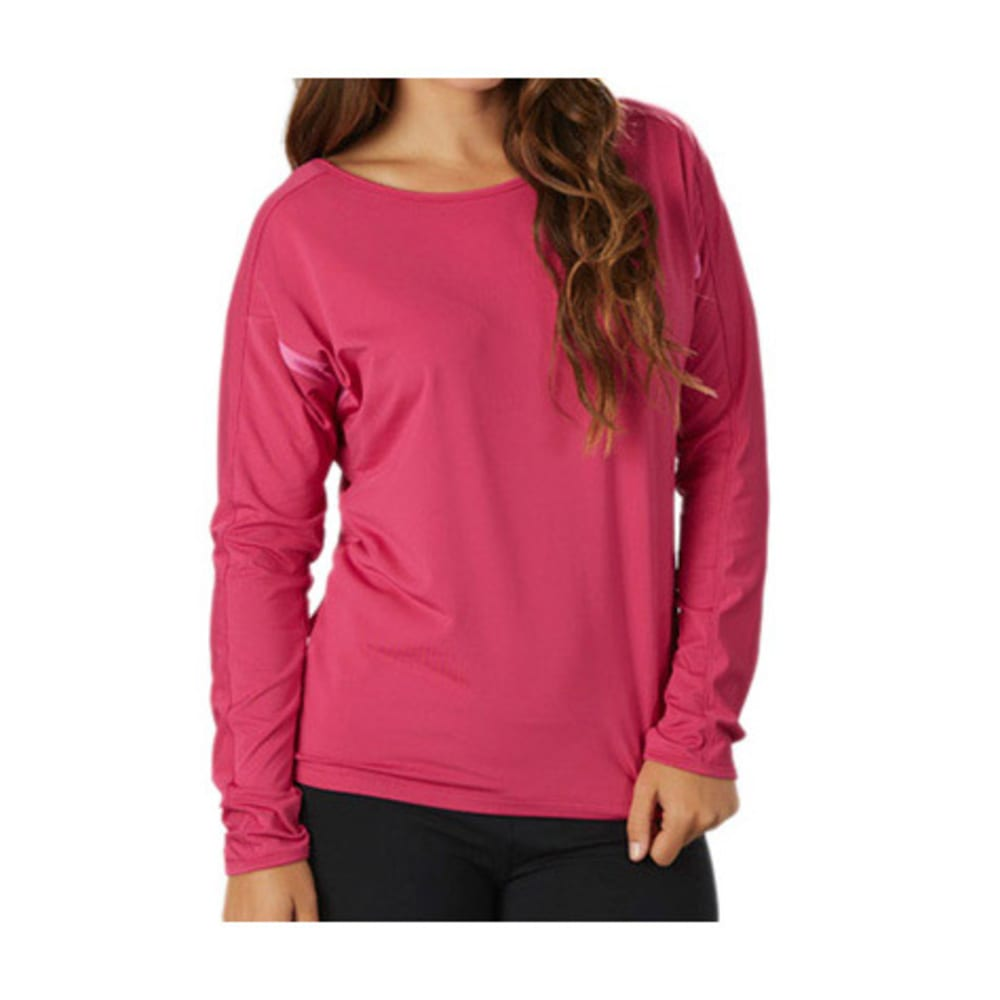 MARIKA Women's Olivia Top, L/S - BERRY