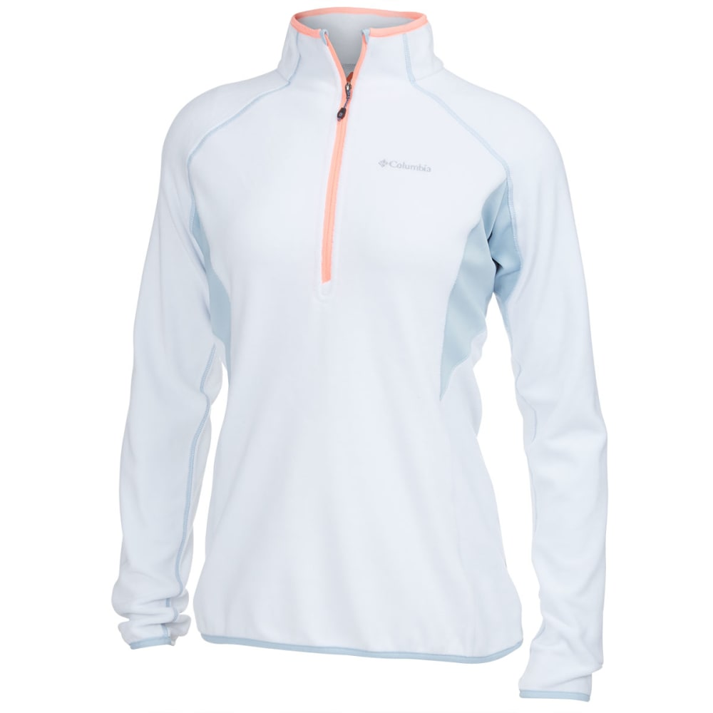 COLUMBIA Women's Heat 360™ III Half Zip Fleece - WHITE