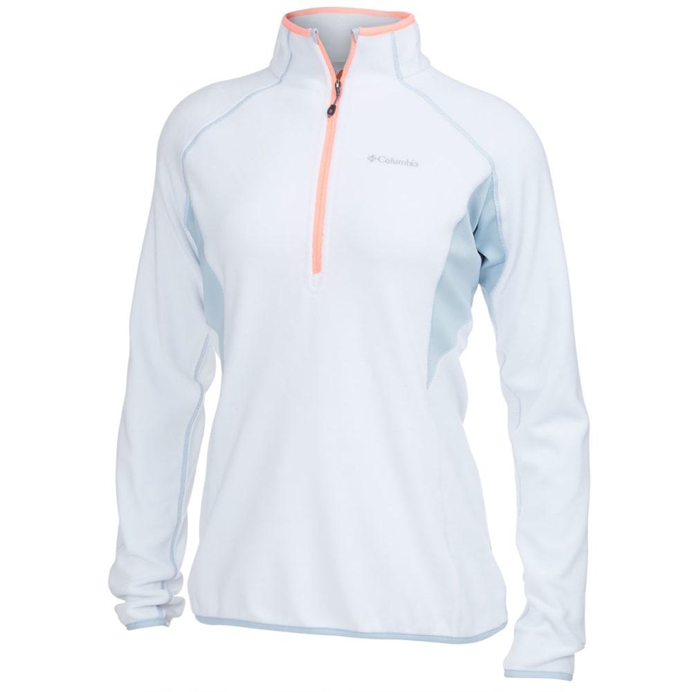COLUMBIA Women's Heat 360™ III Half Zip Fleece - WHITE