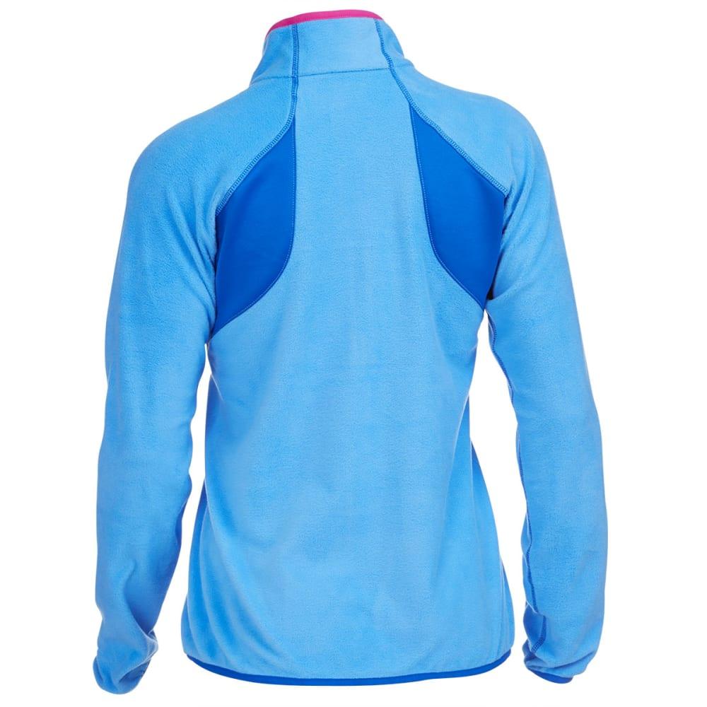 COLUMBIA Women's Heat 360™ III Half Zip Fleece - HARBOR BLUE