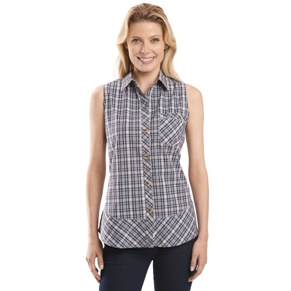 WOOLRICH Women's Spoil Her Sleeveless Shirt - SPRING LILY