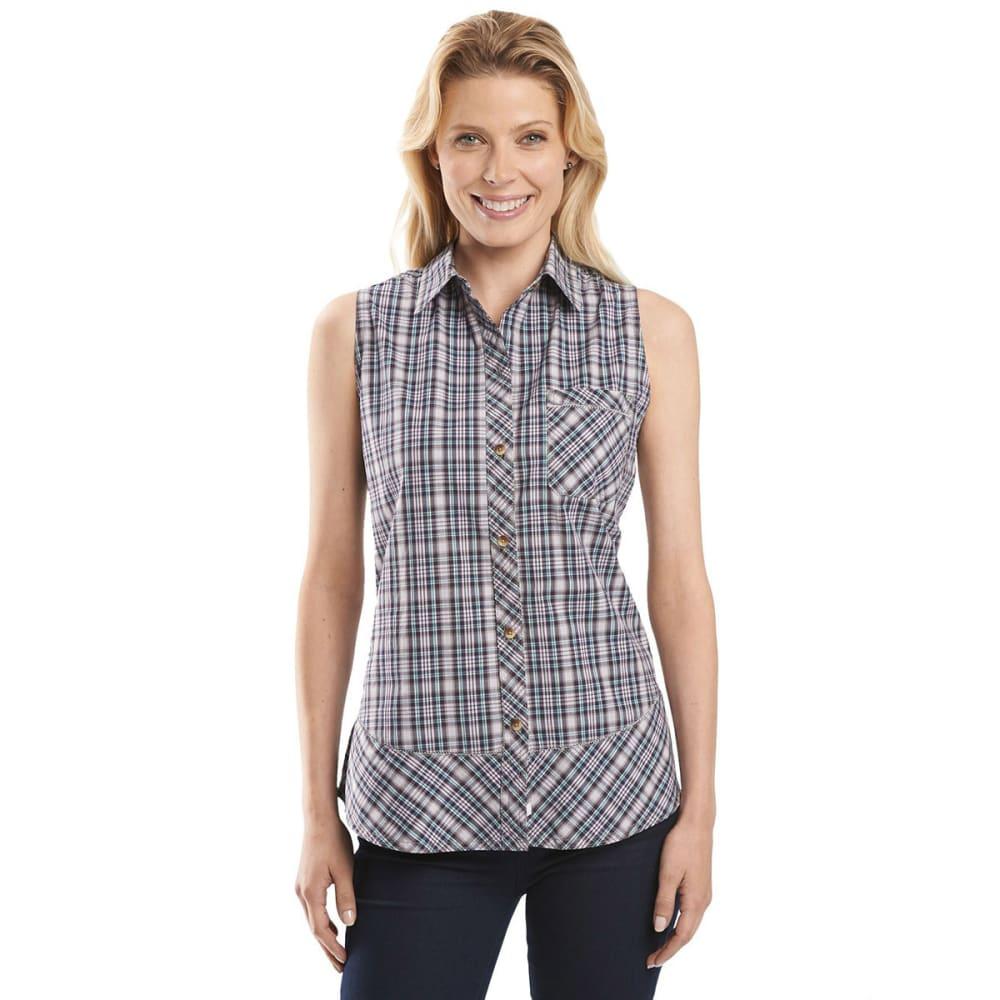 WOOLRICH Women's Spoil Her Sleeveless Shirt - SPRING LILY