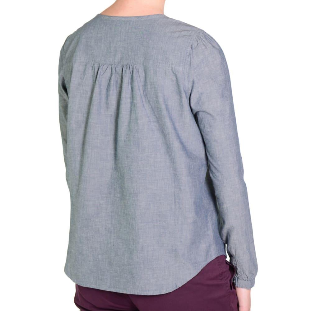 GRAMICCI Women's Penny Blouse, L/S - CLASS BLUE