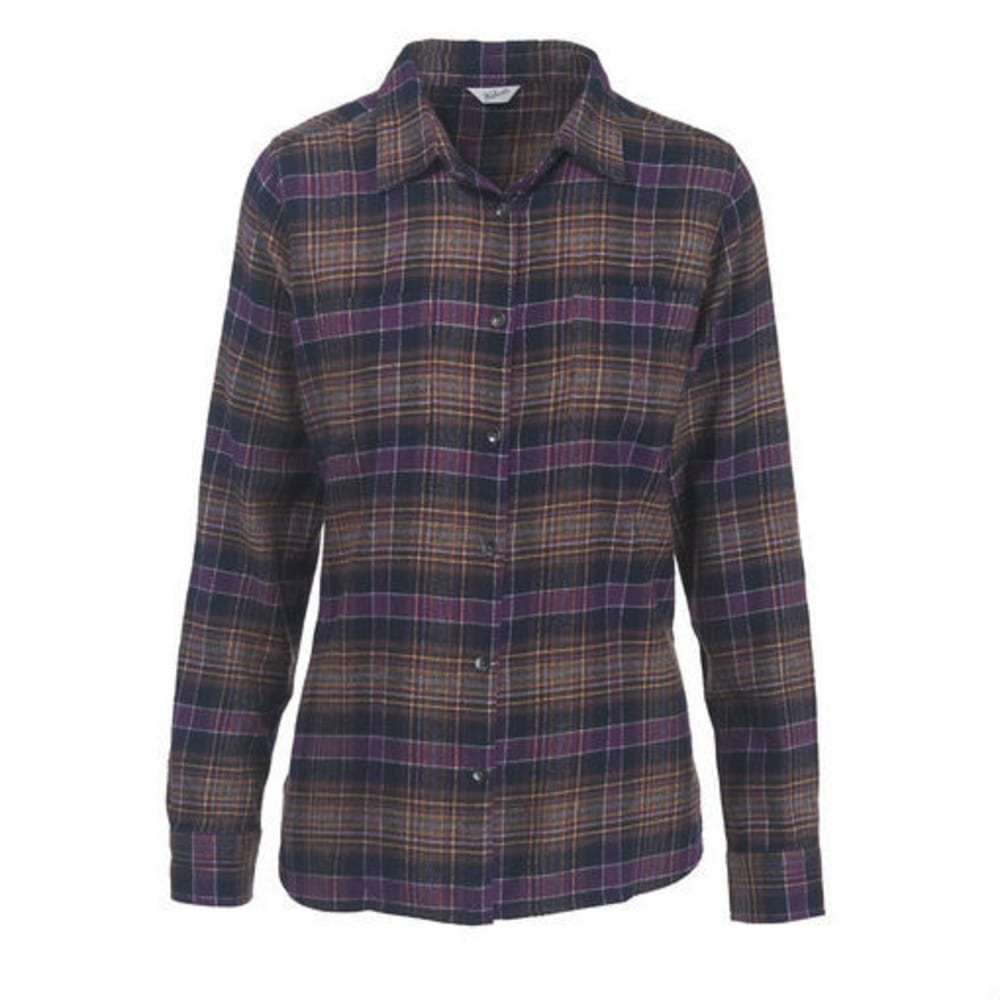 WOOLRICH Women's Pemberton Flannel Shirt - WISTERIA