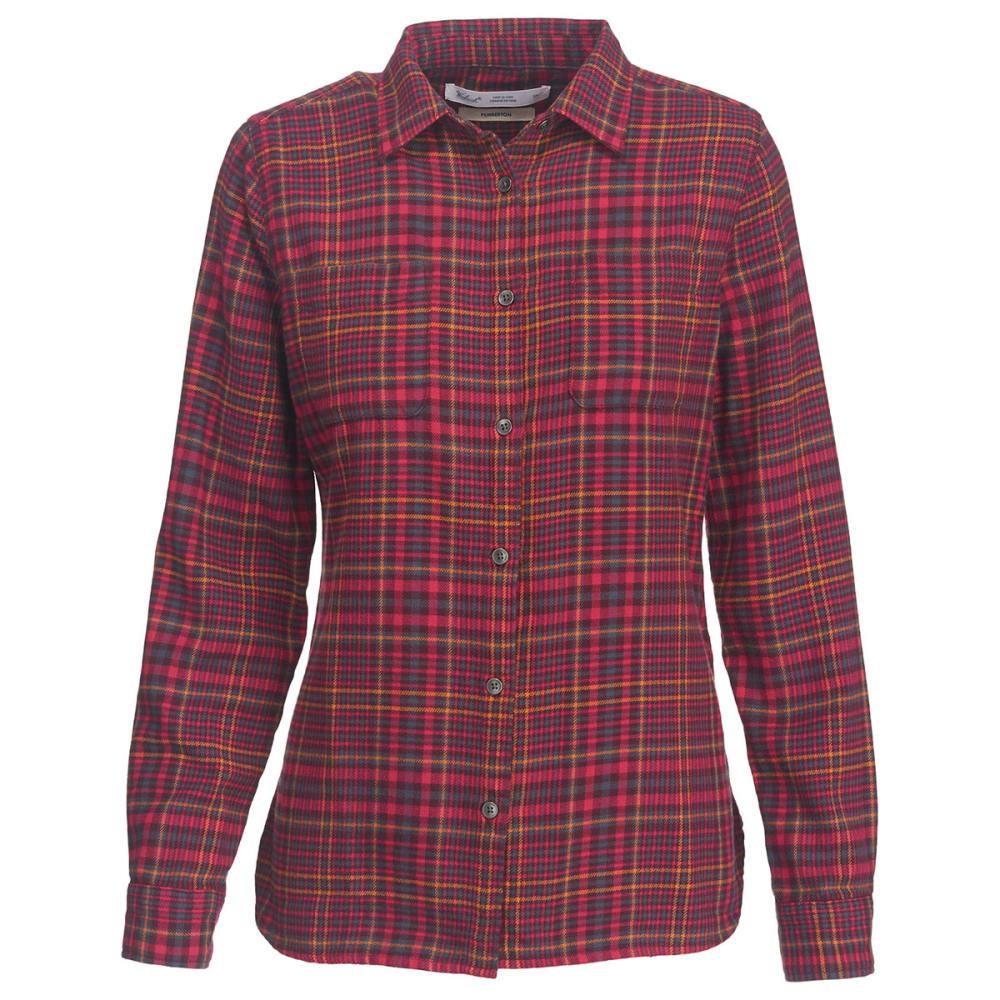WOOLRICH Women's Pemberton Flannel Shirt - MAGENTA