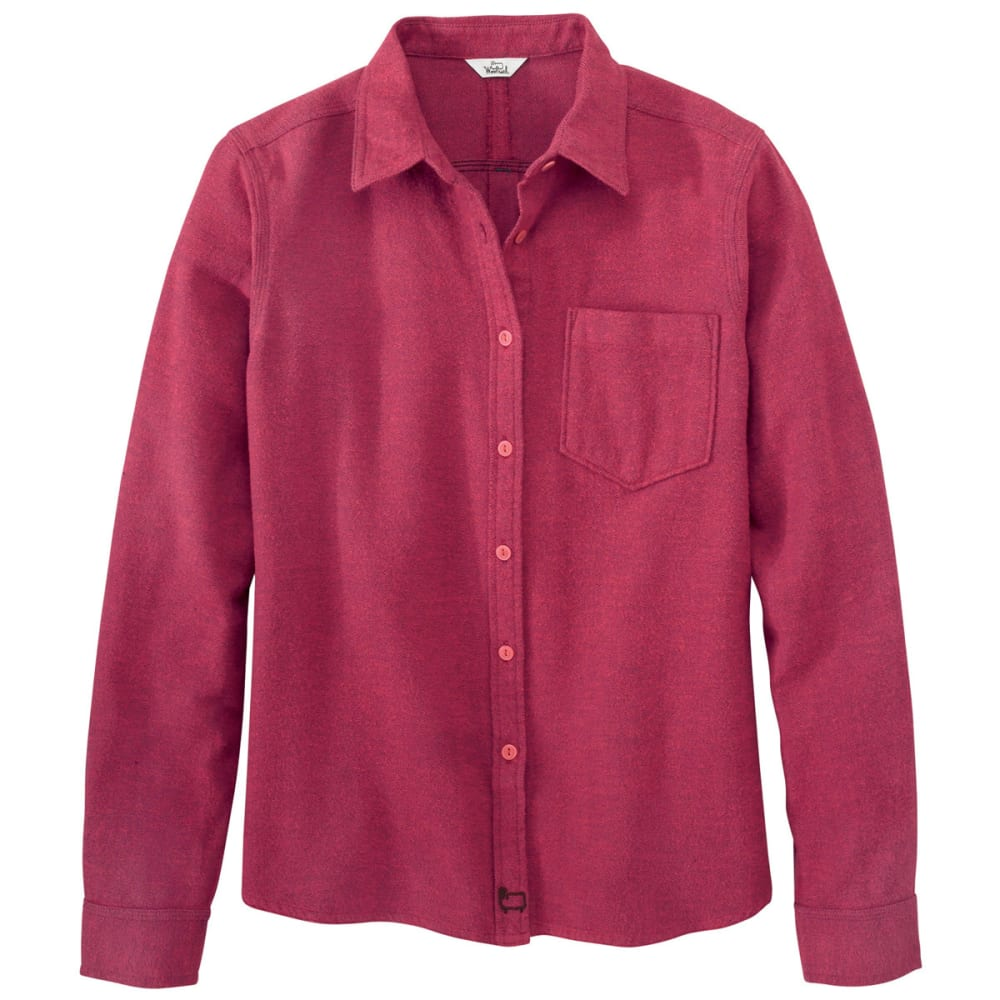 WOOLRICH Women's Pemberton Capsule Flannel Shirt - FIG