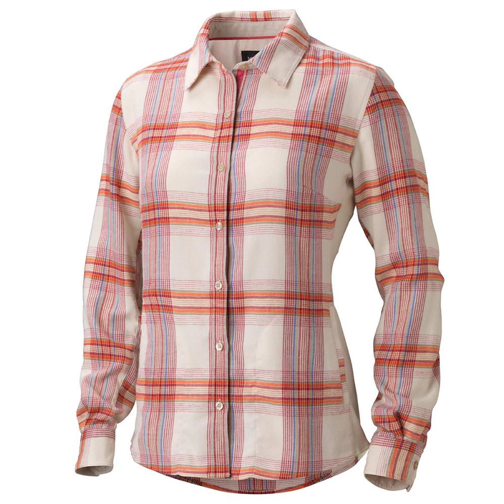 MARMOT Women's Maci Flannel Shirt - RASPBERRY