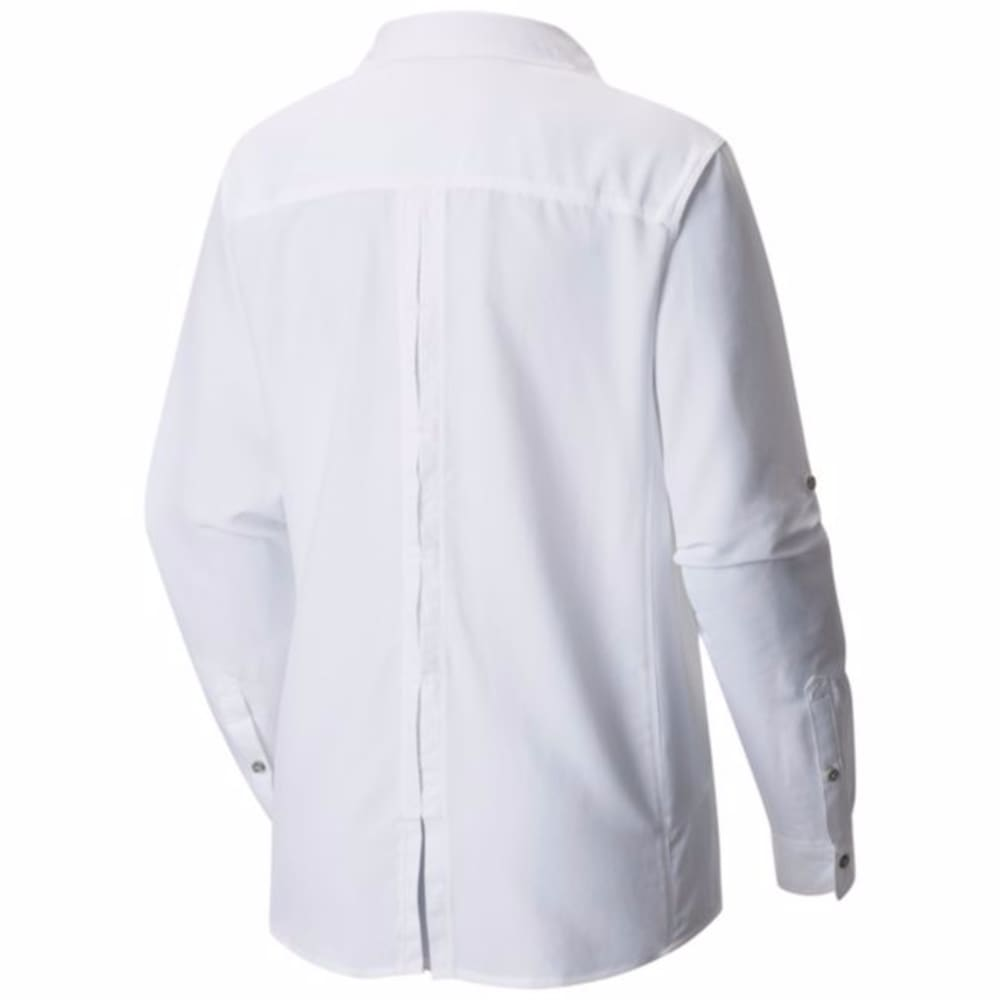 MOUNTAIN HARDWEAR Women's Canyon Long-Sleeve Shirt - 100-WHITE
