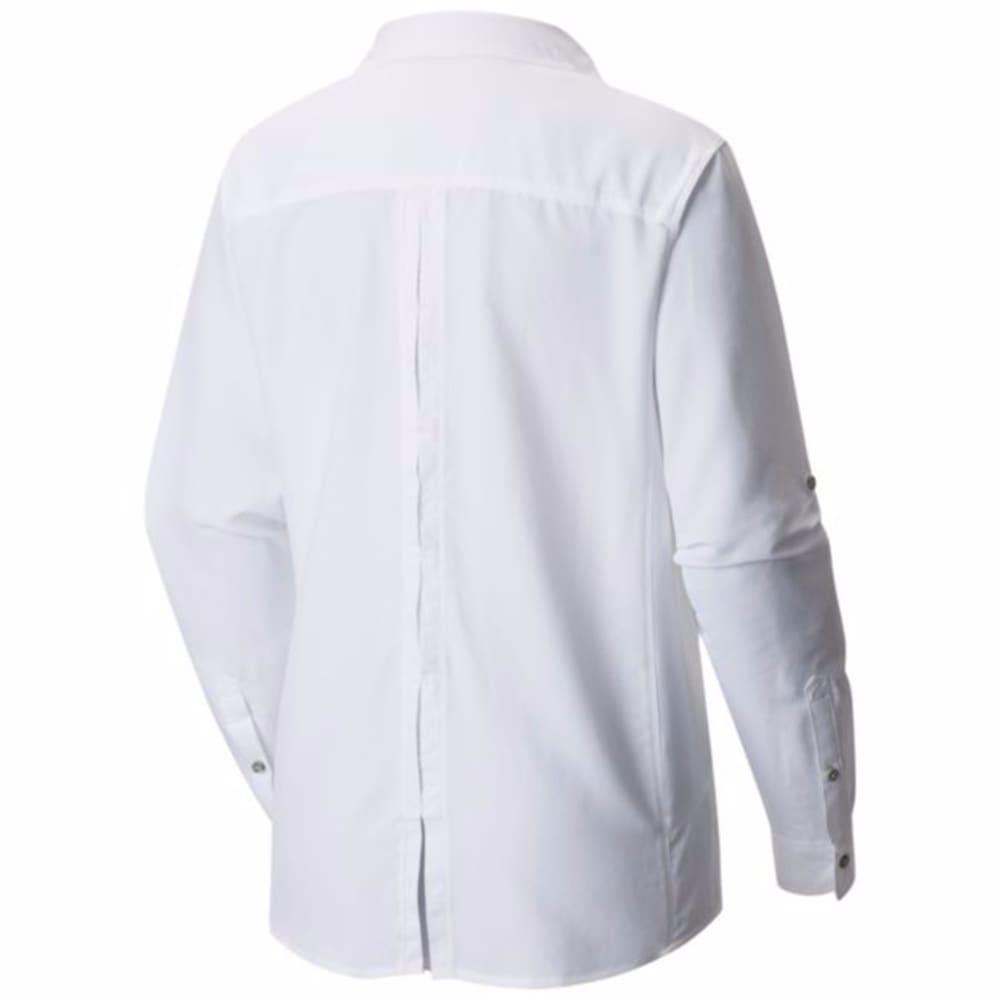 MOUNTAIN HARDWEAR Women's Canyon Long-Sleeve Shirt - 100-WHITE