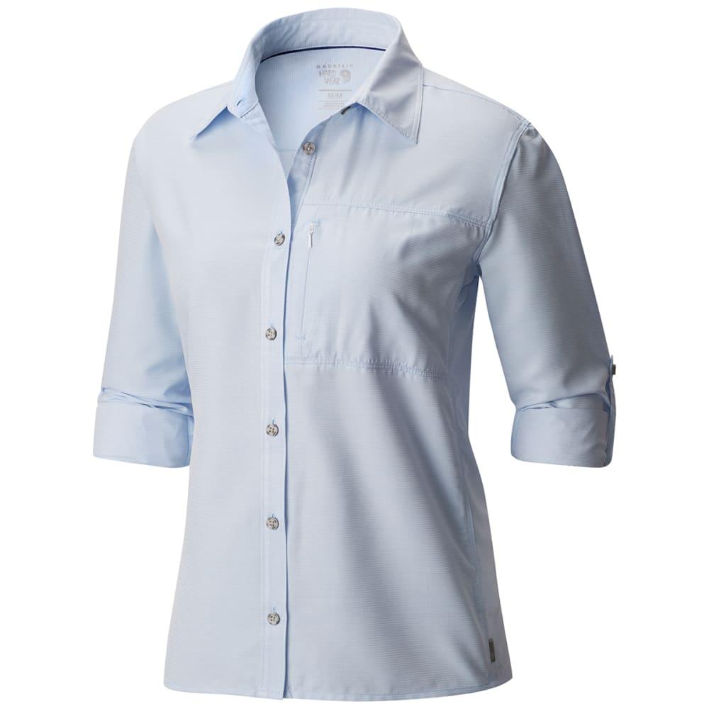 MOUNTAIN HARDWEAR Women's Canyon Long-Sleeve Shirt - 486-FROSTED BLUE