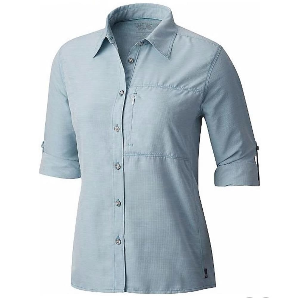 MOUNTAIN HARDWEAR Women's Canyon Long-Sleeve Shirt - 424-SHASTA