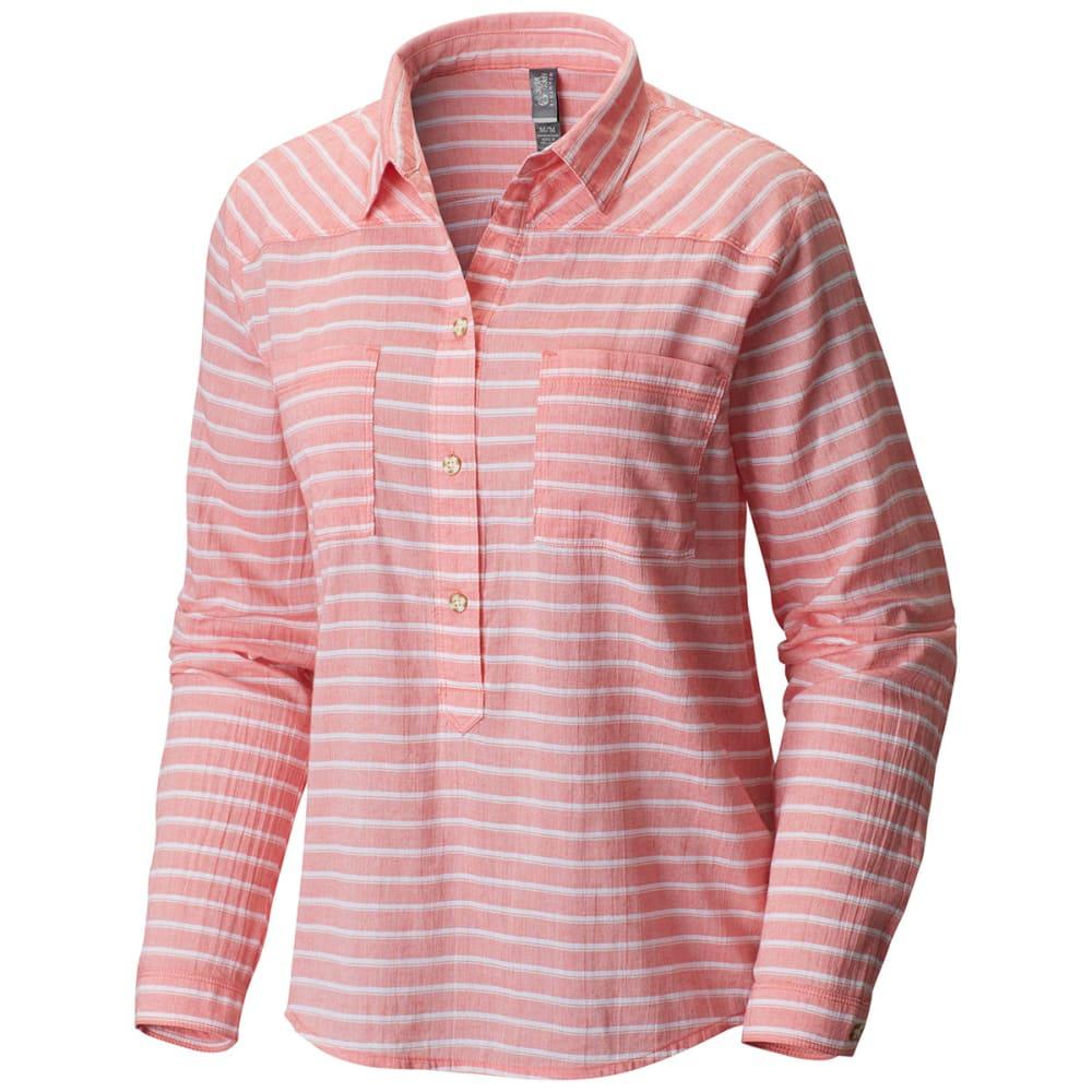 MOUNTAIN HARDWEAR Women's Daralake   Long-Sleeve Pullover - PARADISE PINK