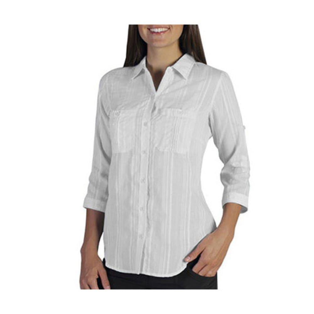 EXOFFICIO Women's Kamili Shirt - WHITE