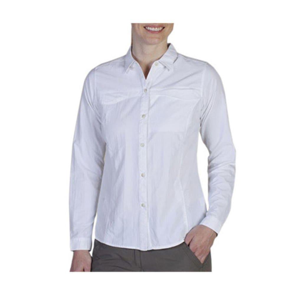 EXOFFICIO Women's BugsAway® Breez'r Shirt, L/S   - WHITE