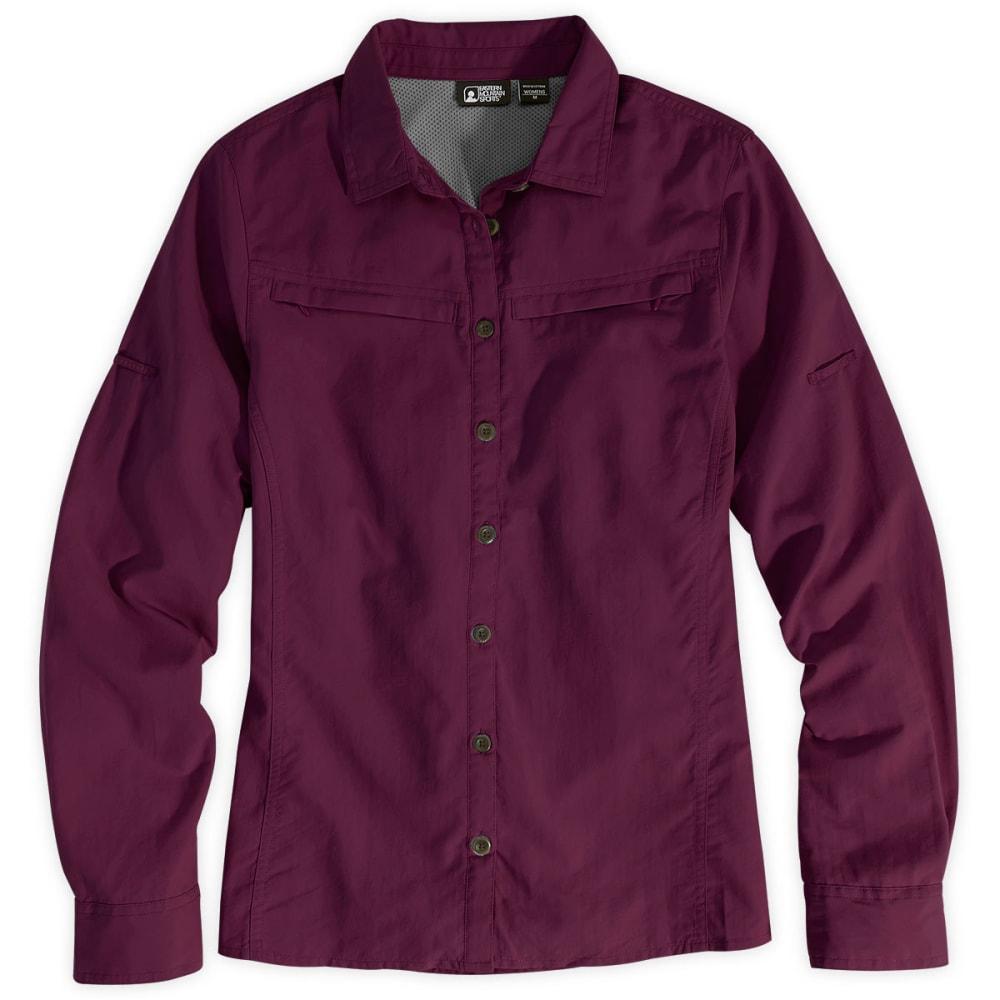 EMS® Women's Trailhead Long-Sleeve Shirt  - GLOXINIA