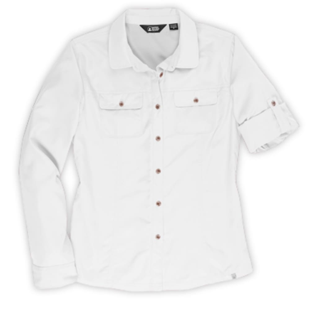 EMS® Women's Compass UPF Long-Sleeve Shirt - BRIGHT WHITE