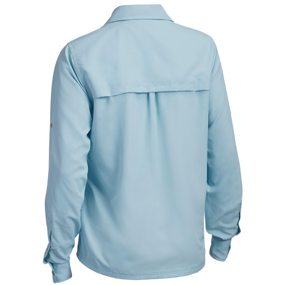 EMS® Women's Compass UPF Long-Sleeve Shirt  - CORYDALIS BLUE