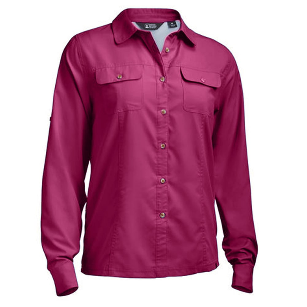 EMS® Women's Compass UPF Long-Sleeve Shirt   - VIVACIOUS