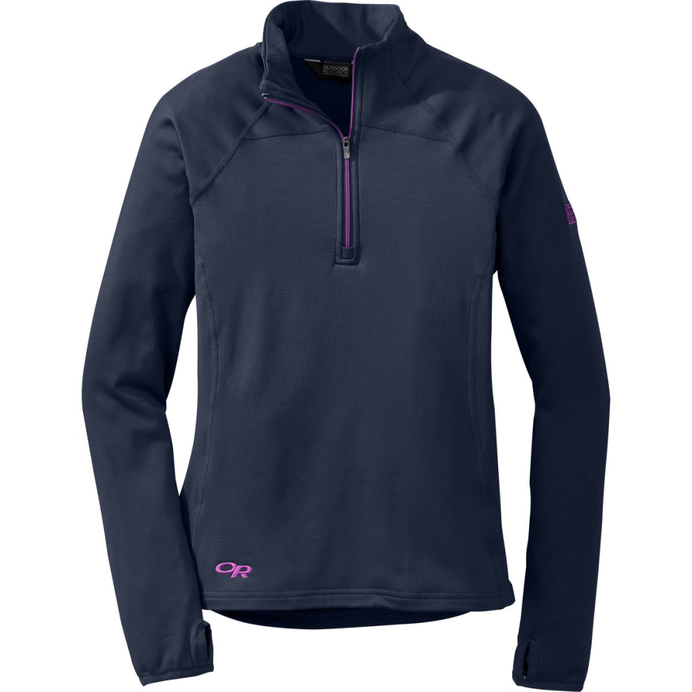 OUTDOOR RESEARCH Women's Radiant LT Zip Top - NIGHTSHADE