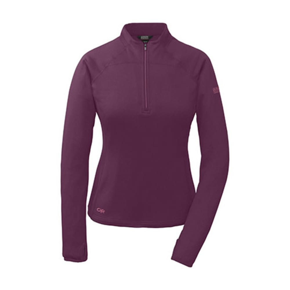 OUTDOOR RESEARCH Women's Radiant LT Zip Top - ORCHID