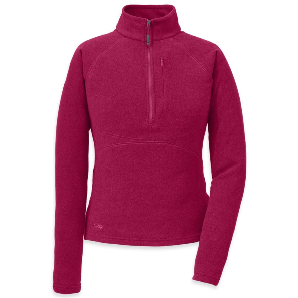 OUTDOOR RESEARCH Women's Soleil Pullover - SANGRIA
