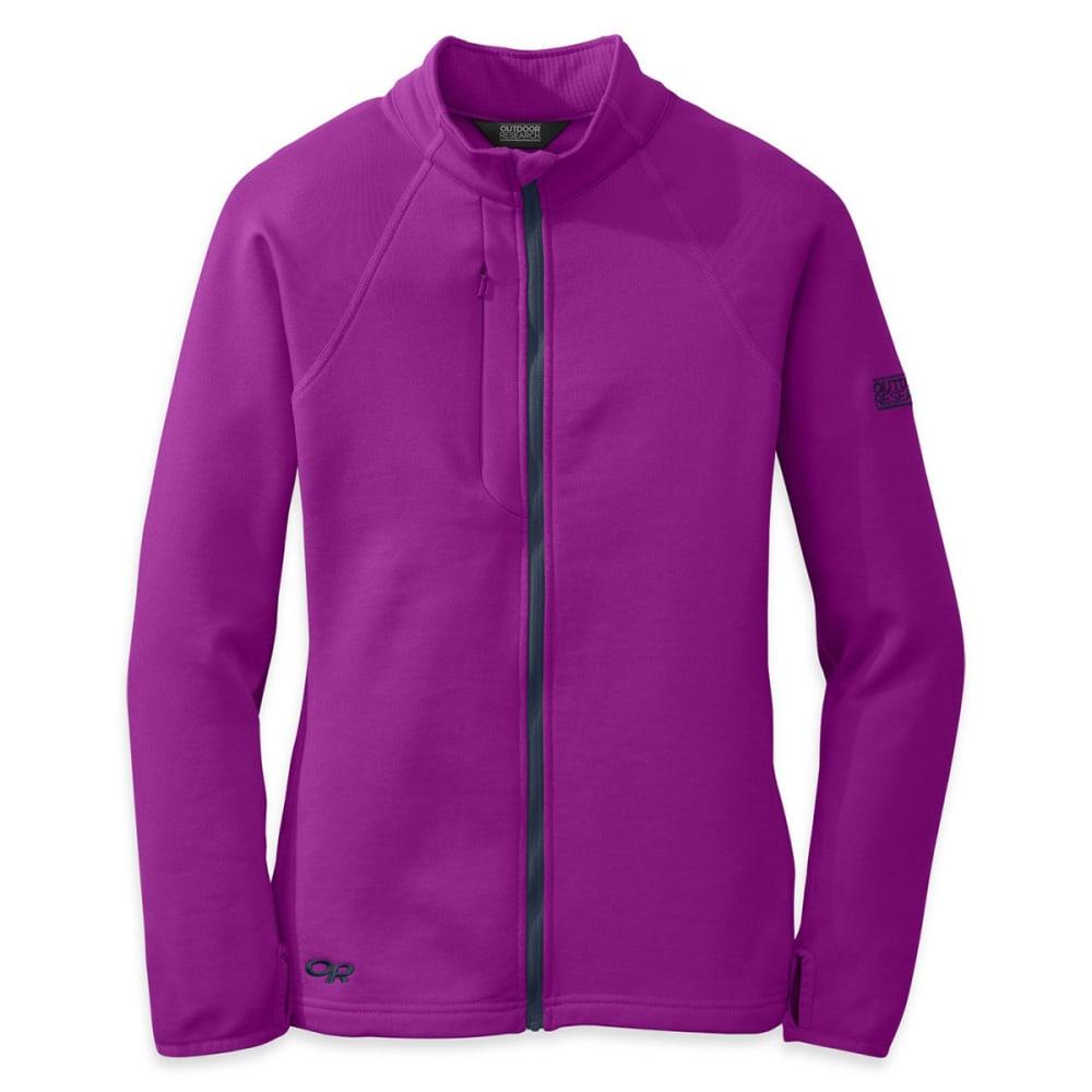 OUTDOOR RESEARCH Women's Radiant Hybrid Jacket - ULTRAVIOLET/ NIGHT