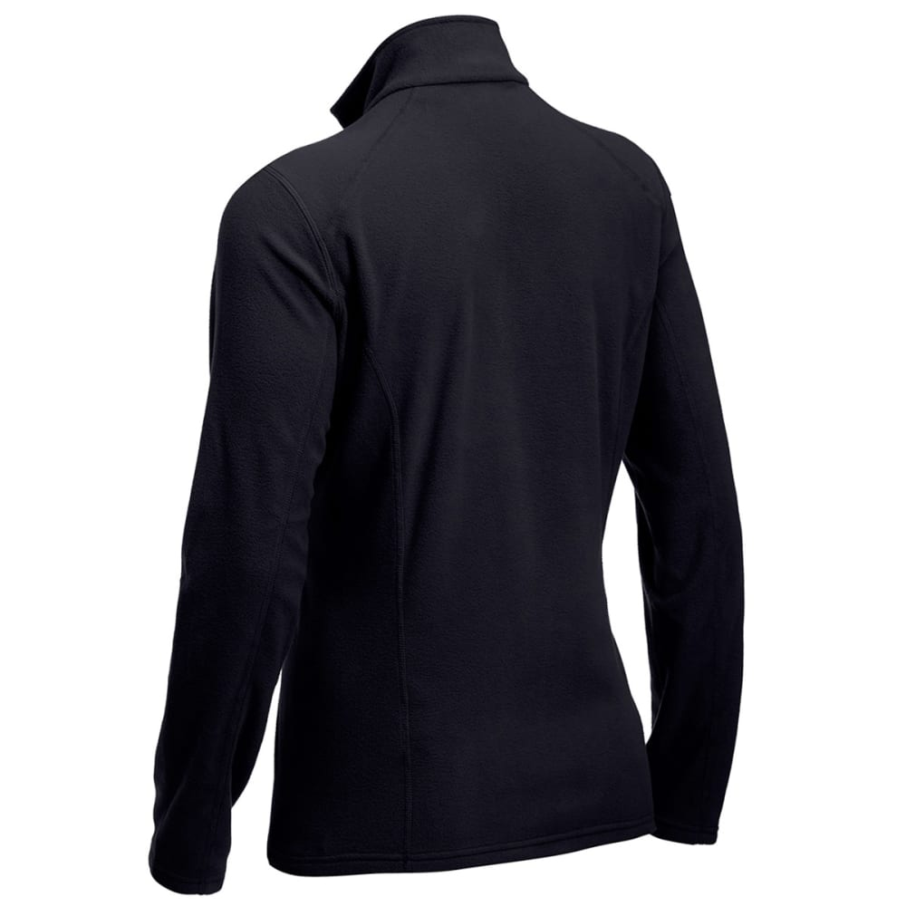 EMS® Women's Classic 1/4 Zip Micro Fleece - JET BLACK