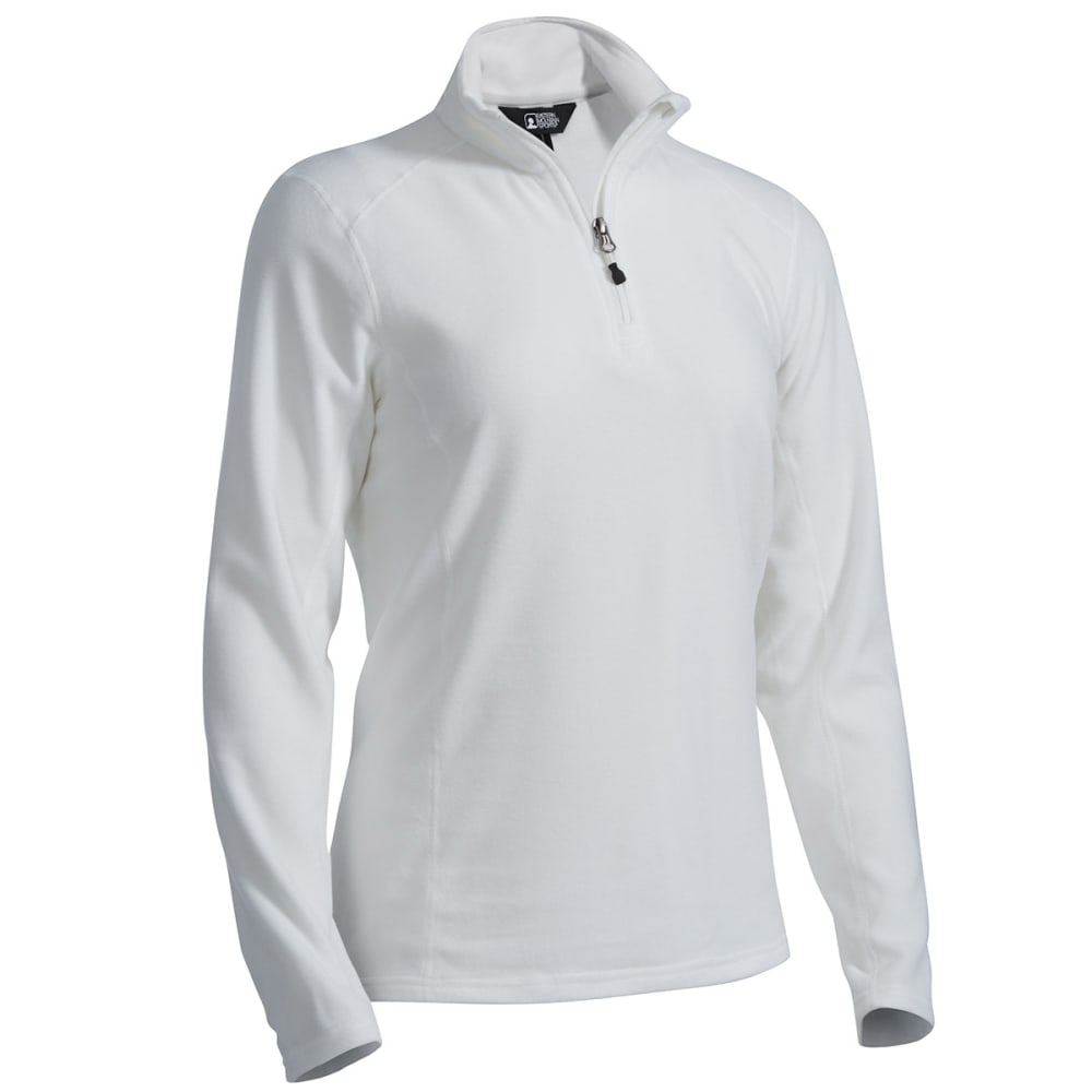 EMS® Women's Classic 1/4 Zip Micro Fleece - MARSHMALLOW