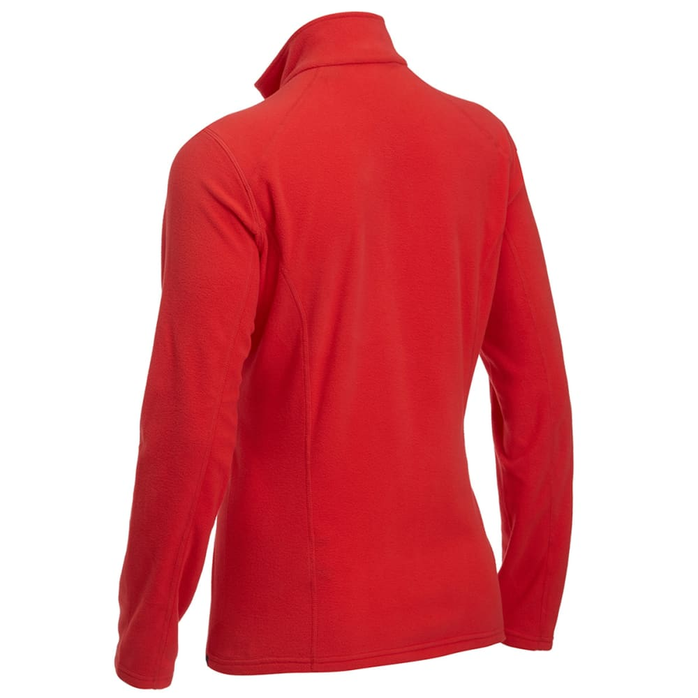 EMS® Women's Classic 1/4 Zip Micro Fleece - POPPY RED