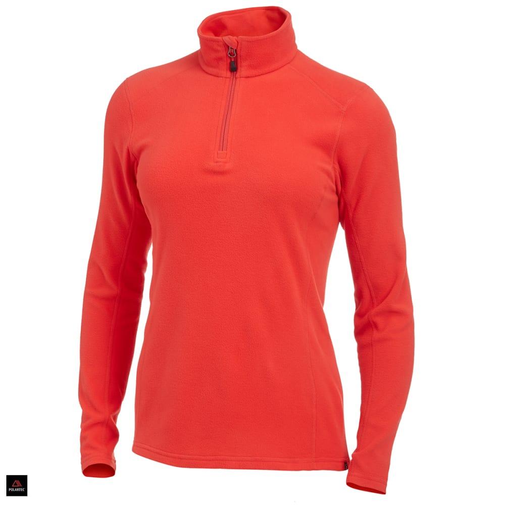 EMS® Women's Classic 1/4 Zip Micro Fleece - POPPY RED