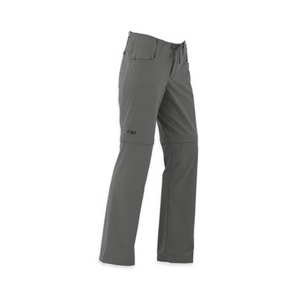 OUTDOOR RESEARCH Women's Ferrosi Convertible Pants - PEWTER
