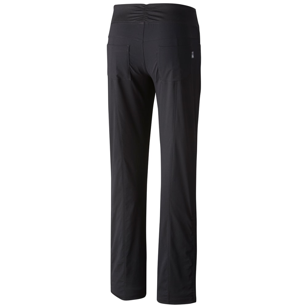 MOUNTAIN HARDWEAR Women's Dynama Pants - 090-BLK SHORT