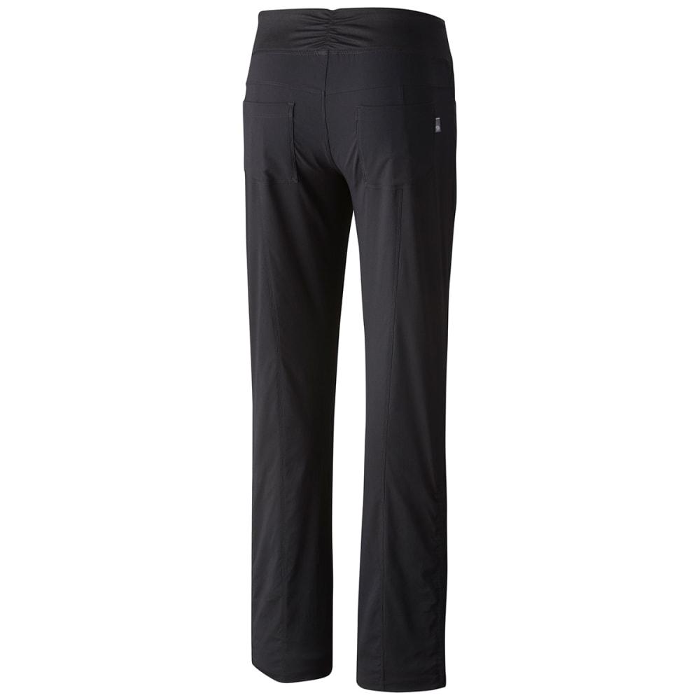 MOUNTAIN HARDWEAR Women's Dynama Pants - 090-BLK SHORT