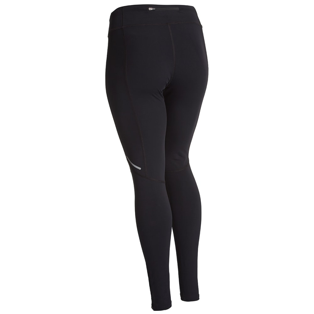 EMS® Women's Excel Run Tights  - JET BLACK