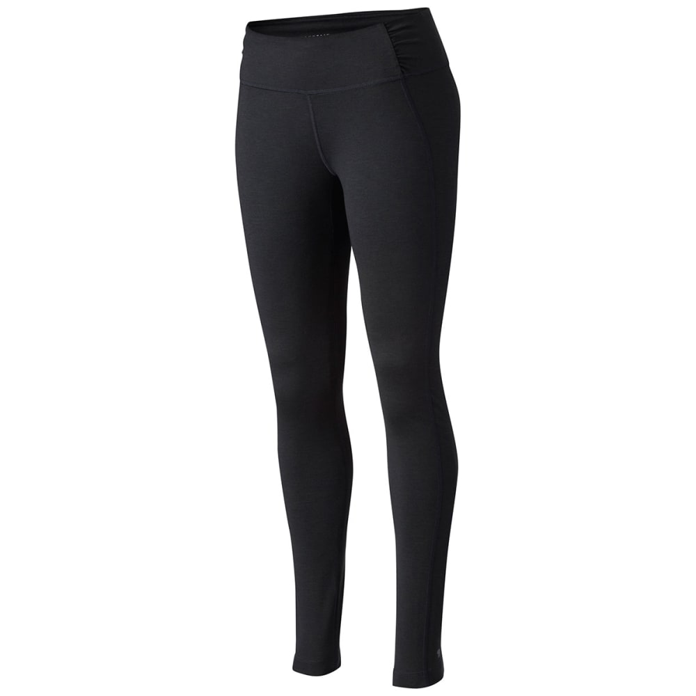 MOUNTAIN HARDWEAR Women's Mighty Activa Tight - BLACK