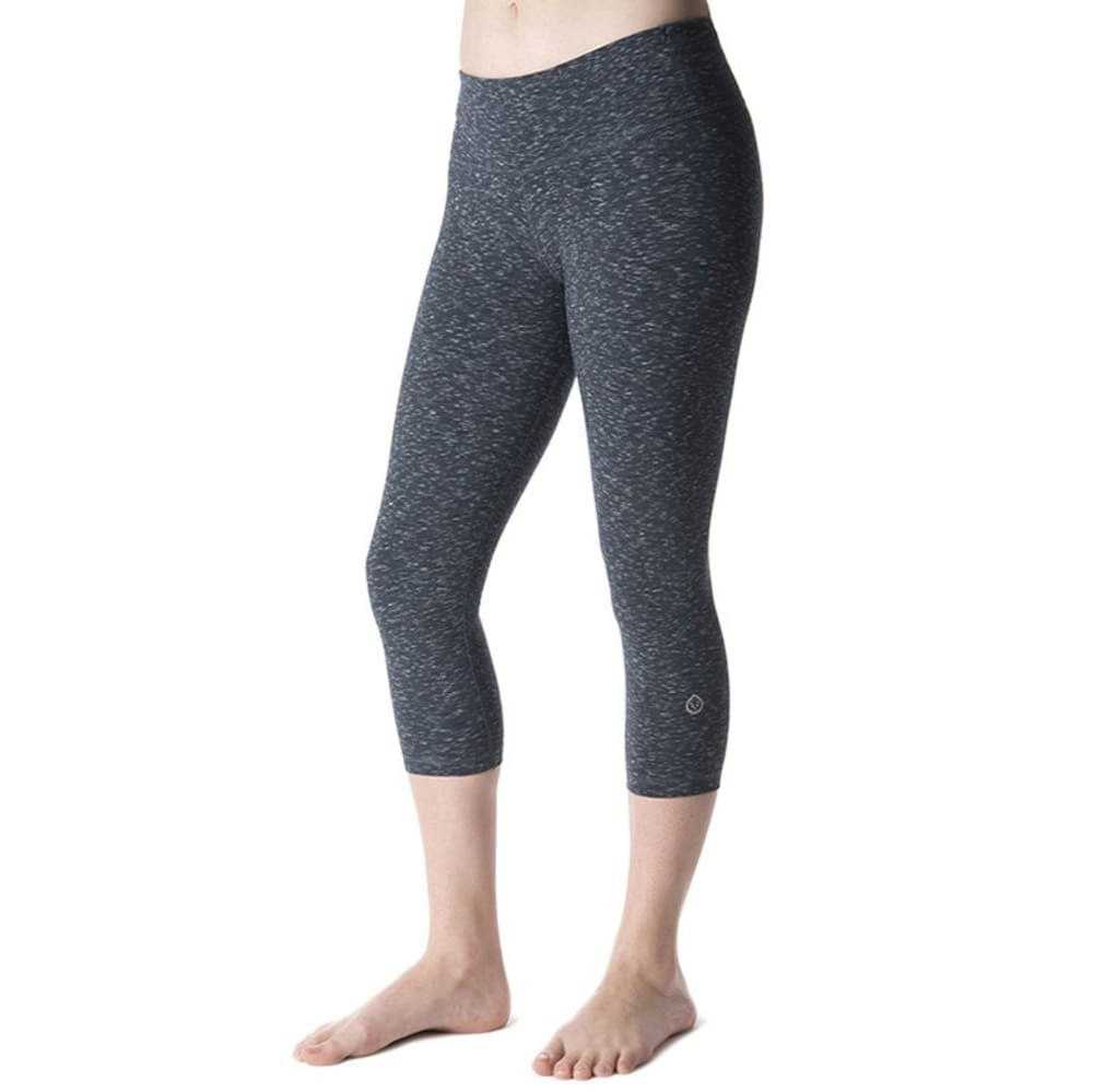 TASC Women's Nola Crop Capris - GRANITE HEATHER