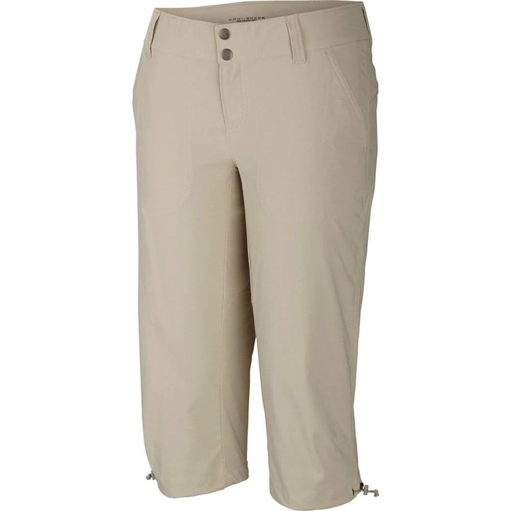 COLUMBIA Women's Saturday Trail II Knee Pants - 160-FOSSIL