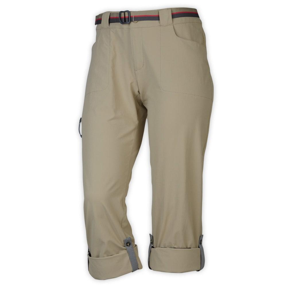 EMS® Women's Compass Trek Pants - WHITE PEPPER SHORT