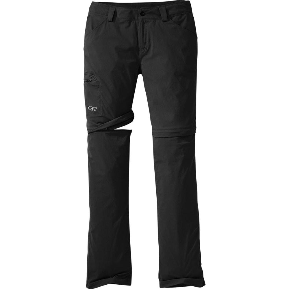 OUTDOOR RESEARCH Women's Equinox Convertible Pants - BLACK