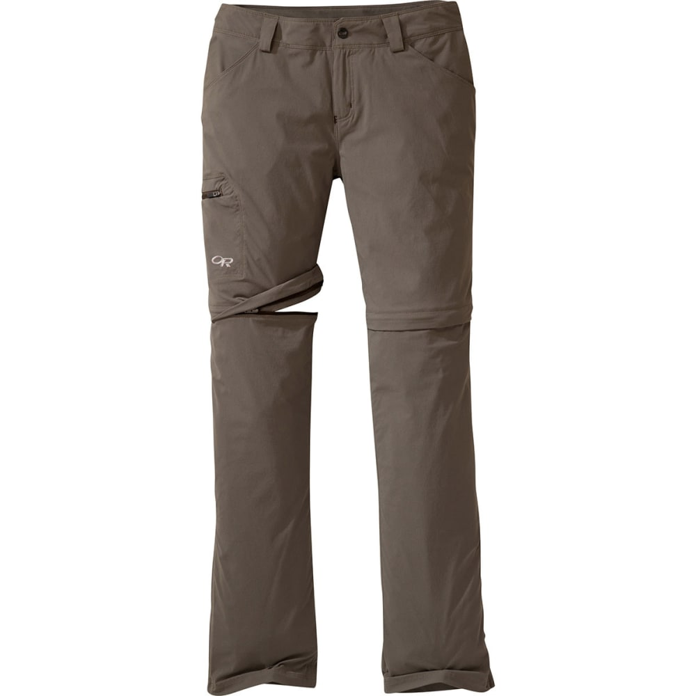 OUTDOOR RESEARCH Women's Equinox Convertible Pants - MUSHROOM