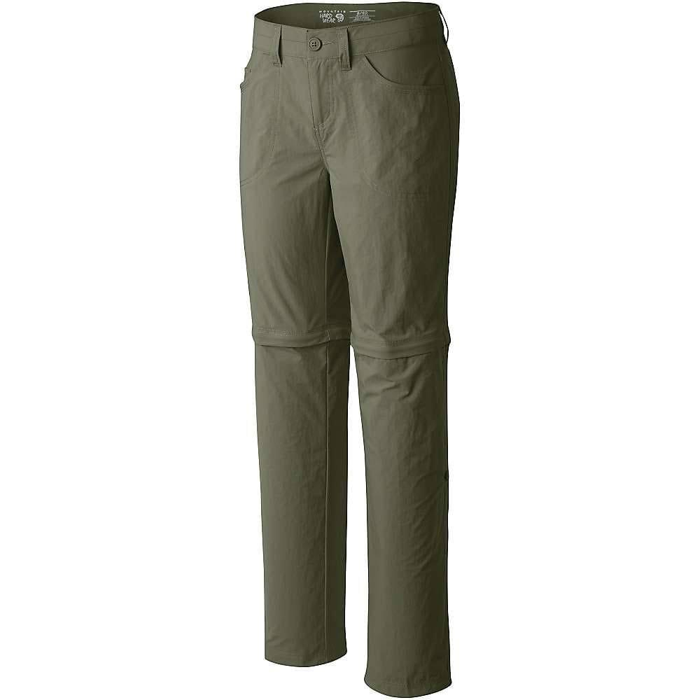 MOUNTAIN HARDWEAR Women's Mirada Convertible Pants - MOSSTONE