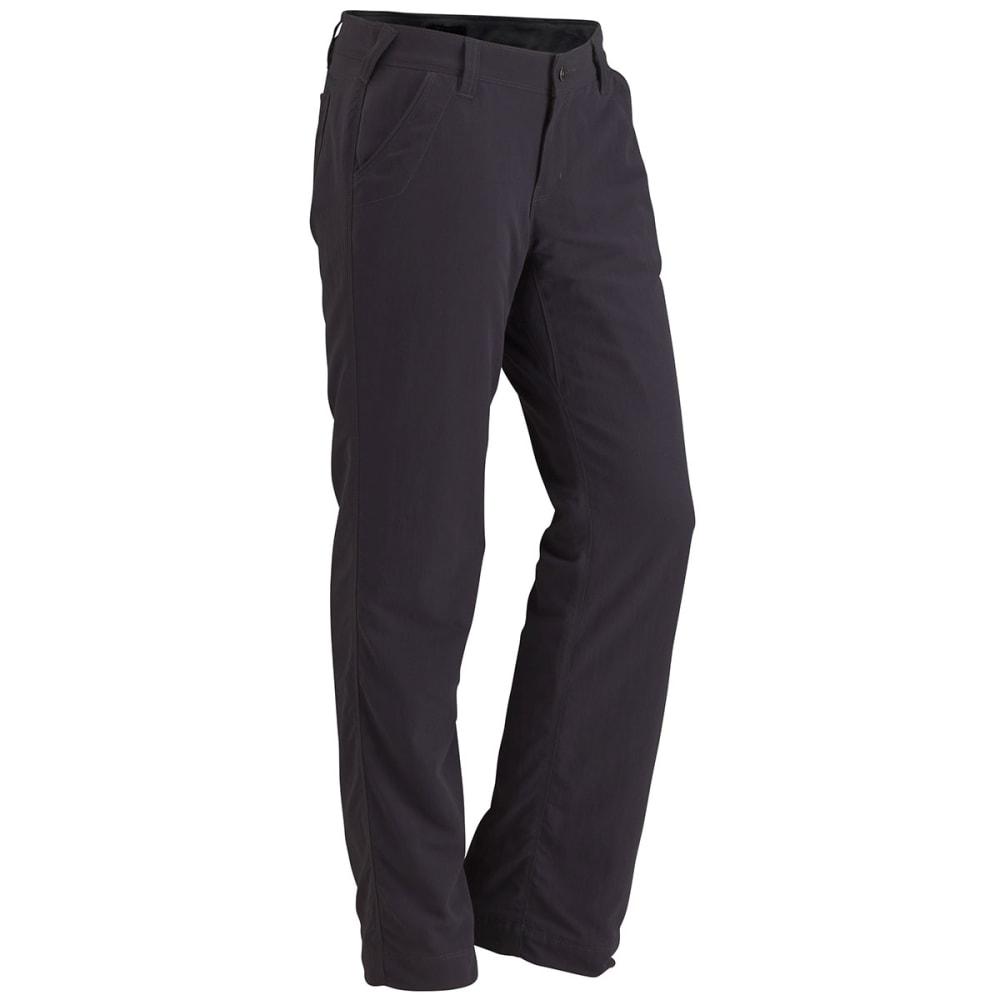 MARMOT® Women's Piper Flannel Lined Pant - DARK STEEL